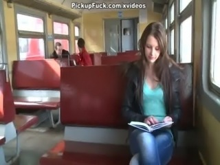 Girl picked in a train and penetrated in mouth and pussy free