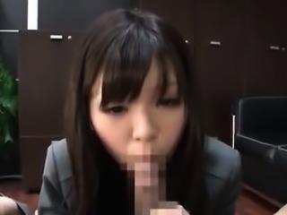 Adorable Japanese Babe Banged