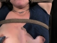 Cherry Doll chicken wing tied bdsm sub whipped