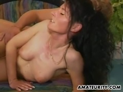 Amateur Milf anal action with facial cumshot free