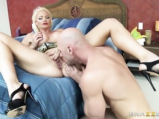 Johnny Sins wants to drill ultra hot Rhylee Richardss neat wet spot forever