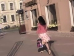 Petite casting teen fucked on camera