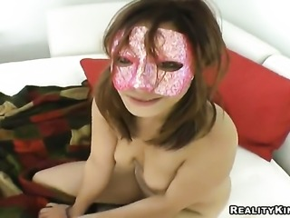 Brunette loves to suck and cant say No to her hard cocked fuck buddy