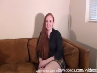 bbw redhead iowa college girl stripping down to her skivvies free