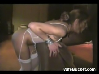 Blindfolded and cuffed wife fucked hard free