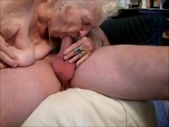 OLD Granny Bang Sucks cock NEW Oldest Fucks young guy