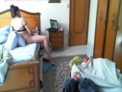 Great hidden cam. Caught my mom having fun in videochat free