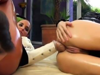 European lesbian analfisting with Leyla Black