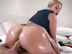 Cameron Canada enjoys erect boner in her hands