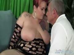 Sexy mature plumper Selenda White is fucked free