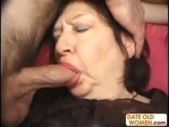 Mature slut randomly fucks two dudes free