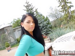 Adorably sexy cutie fucks a lot before hot dude shoots his load