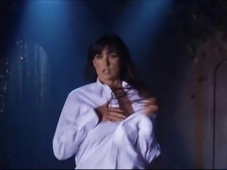 Demi Moore Business Suit Striptease