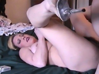 Busty Wife Smoking And Riding A Dick