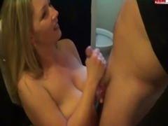 Cumshot on Big Tits (German) free