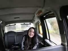 Pretty Alessa gravely loves drivers cock