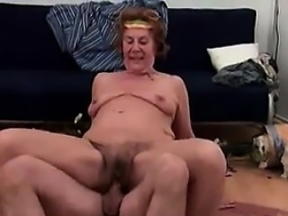 Wild Granny Is Horny For A Young Cock