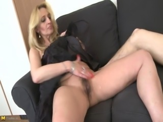 Mature amateur gives young man a treat free
