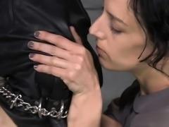 Hot secretary hard anal fuck