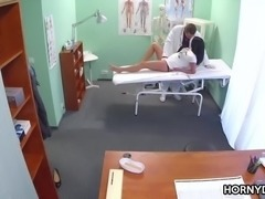 Doctor fucks his new patient