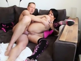 German Mom get ass fucked by Step-Son in privat Tape