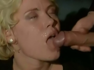 Italian facial 10 Blonde beauty takes 4 facials