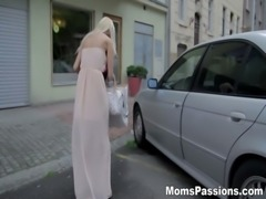 Moms Passions - First lovemaking with busty mom free