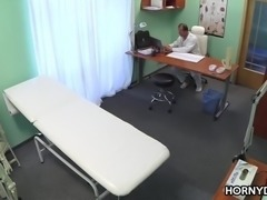 Horny doctor stalks his prey