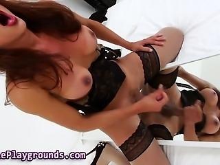 Latina fetish tranny cums