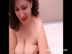 Busty Milf Live Cam Masturbation - www.chatmypussy.com free