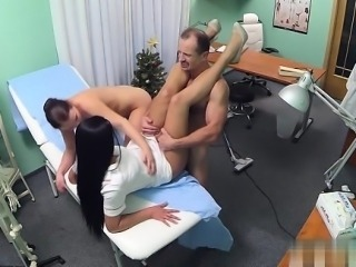 Busty amateur office sex
