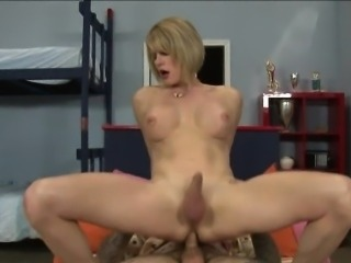 Big boobs tranny Delia De Lions analyzed by horny dude