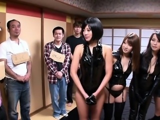 Cosplay catsuit japanese beauties hunt for pray