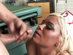 Sergio is ready to make sex obsessed Crista Moores every sex fantasy come to...