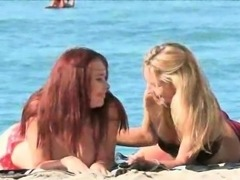 Melody and Lena Porn Hawaii Part II The beach kissing