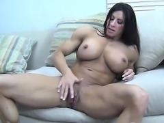Angela Salvagno Masturbates Her Big Clit
