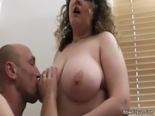 Chubby picked up and fucked free