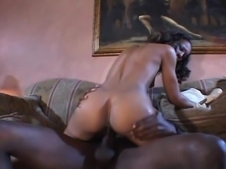 Black girl fucks a monster cock