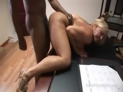Big Tit MILF Alexis Golden Fucks Big Black Cock Boss free