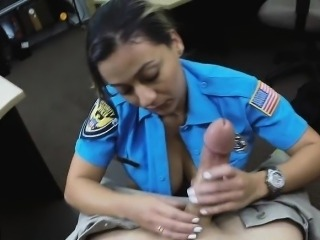 Fucking Law officers fat ass and pussy