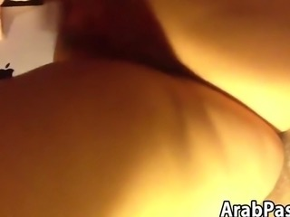 Rubbing Her Arab Pussy Point Of View