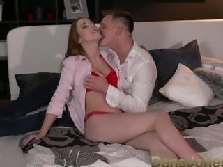 DaneJones Beautiful Alexis gets loud orgasms in passionate fuck