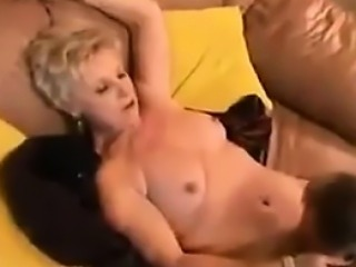 Mature Blonde Woman Gets A Pounding