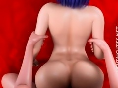 Naughty 3D anime slut gets nailed