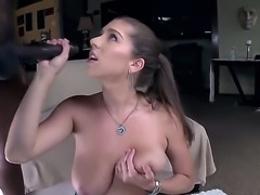 Alex chance has always dreamed about a big black cock inside her mouth. Now...