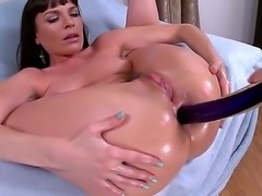 Big ass fuck with Dana. She is a sexy milf all oiled up and looking for a...