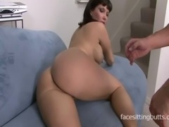 Sexy cougar seduces her colleague to come over and fuck her silly free