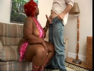 Ebony BBW and white guy free