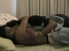 Desi Indian Young Lovers Fuck in a Home Video free