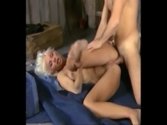 Beautiful Busty Blonde Babe Fucked Hard and Anal, Helen Duval free